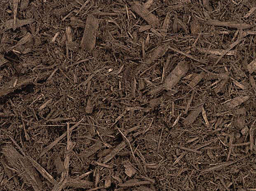 Premium Dark Brown Mulch